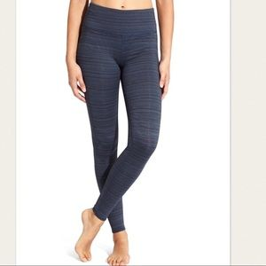 Athleta High Rise Chaturanga Jacquard Leggings